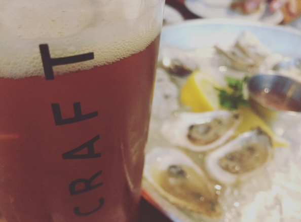 Craft Beer and Oysters